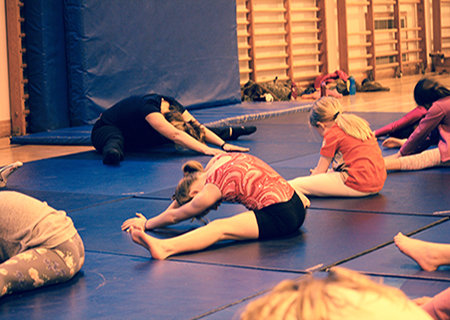 Little Gymnasts Weekly Classes