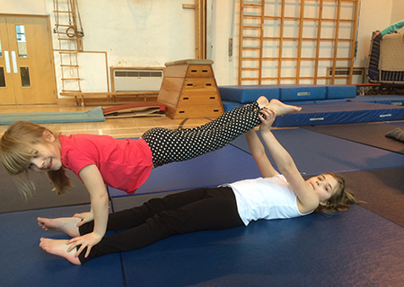 Little Gymnasts Holiday Clubs