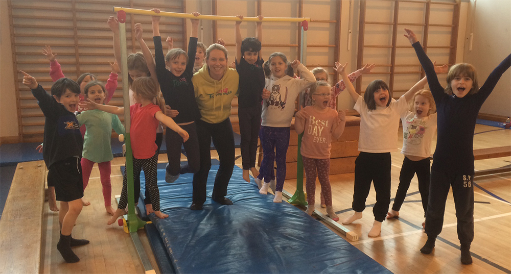 little gymnasts group